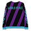 Thumbnail: Diagonal stripes Unisex Sweatshirt