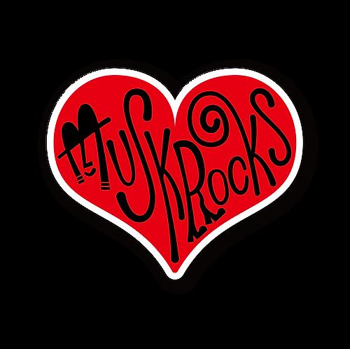 Gentleman's Heart Sticker