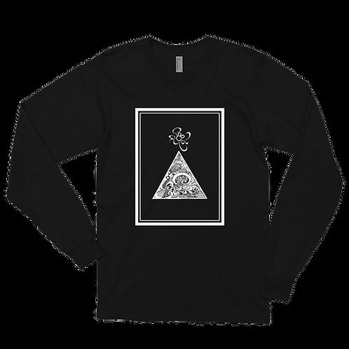 Triangle Unisex Long sleeve t-shirt