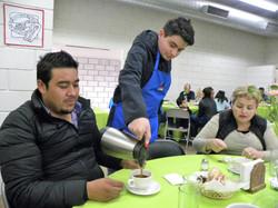 Desayunando en familia (1)