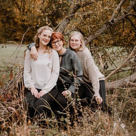 Mutter-Töchter Shooting im Herbst
