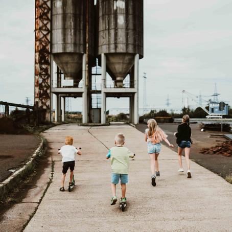 Fotoshooting am Leiderer Hafen