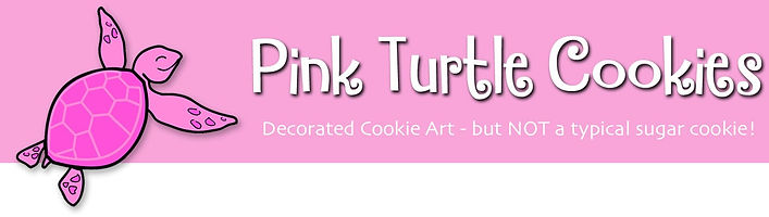 Pink Turtle Banner