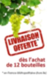 Vins de Vouvray livraison offerte