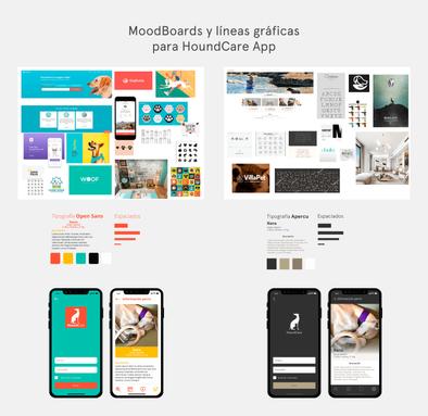 Moodboard para cliente