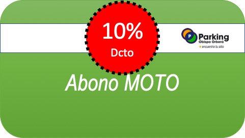 Abono Moto x 1 Mes