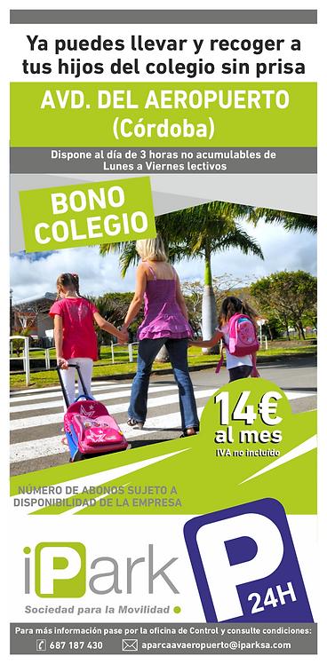 Bono Colegio (A. LIBRE 3 Horas)