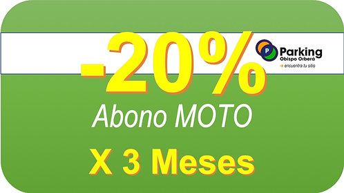 Abono Moto x 3 Meses