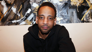Grammy Nominated r&b artist J. Holiday posing.