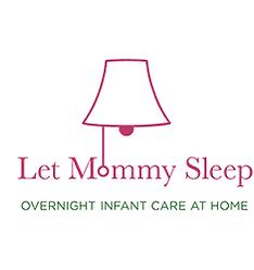 Let Mommy Sleep Night Nurse, Postpartum and Newborn Care logo