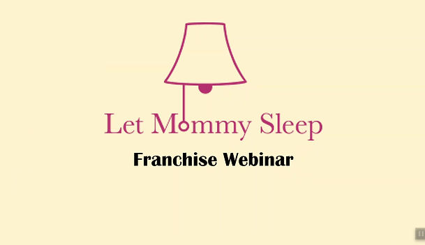Night Nurse and Newborn Care Franchise Webinar