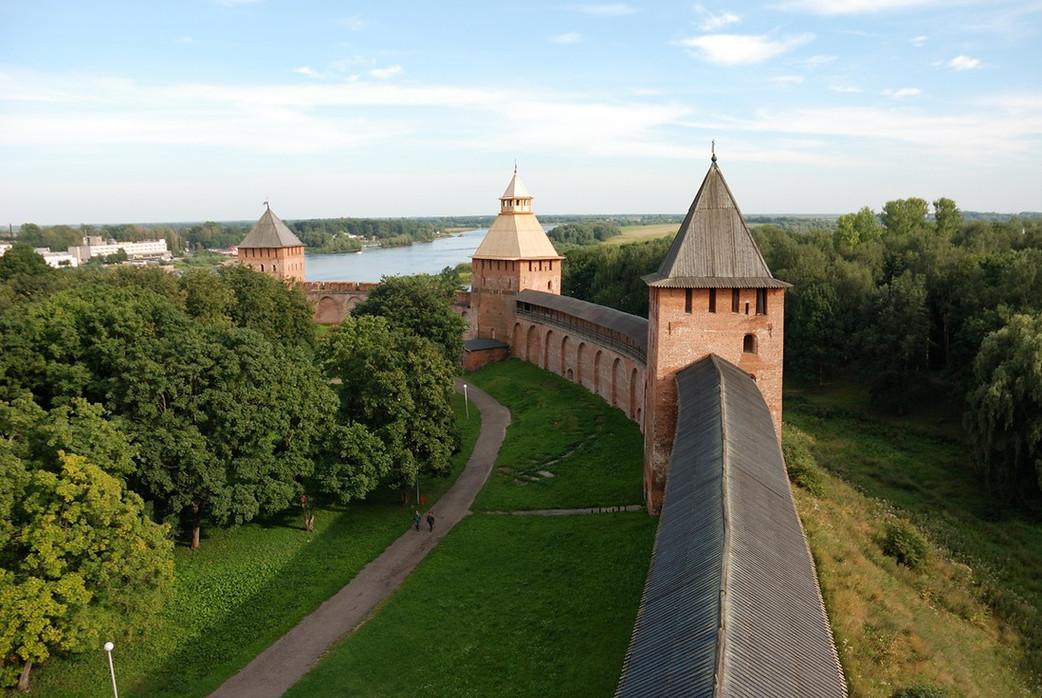 Кремль в Великом Новгороде
