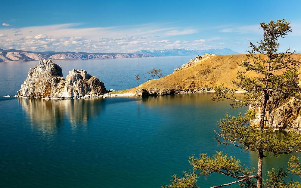 Озеро Байкал. Остров Ольхон