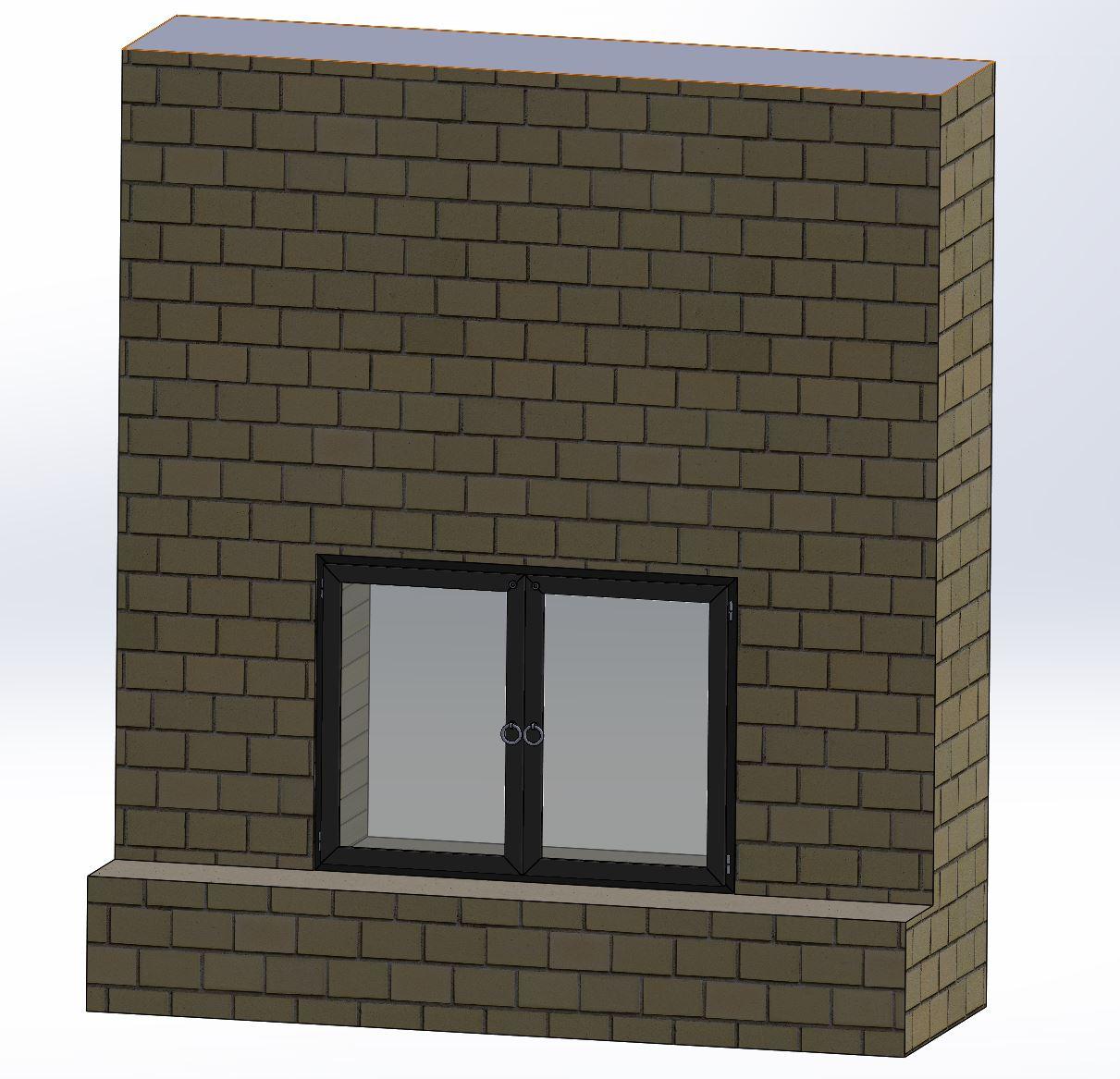 Fireplace Door Model