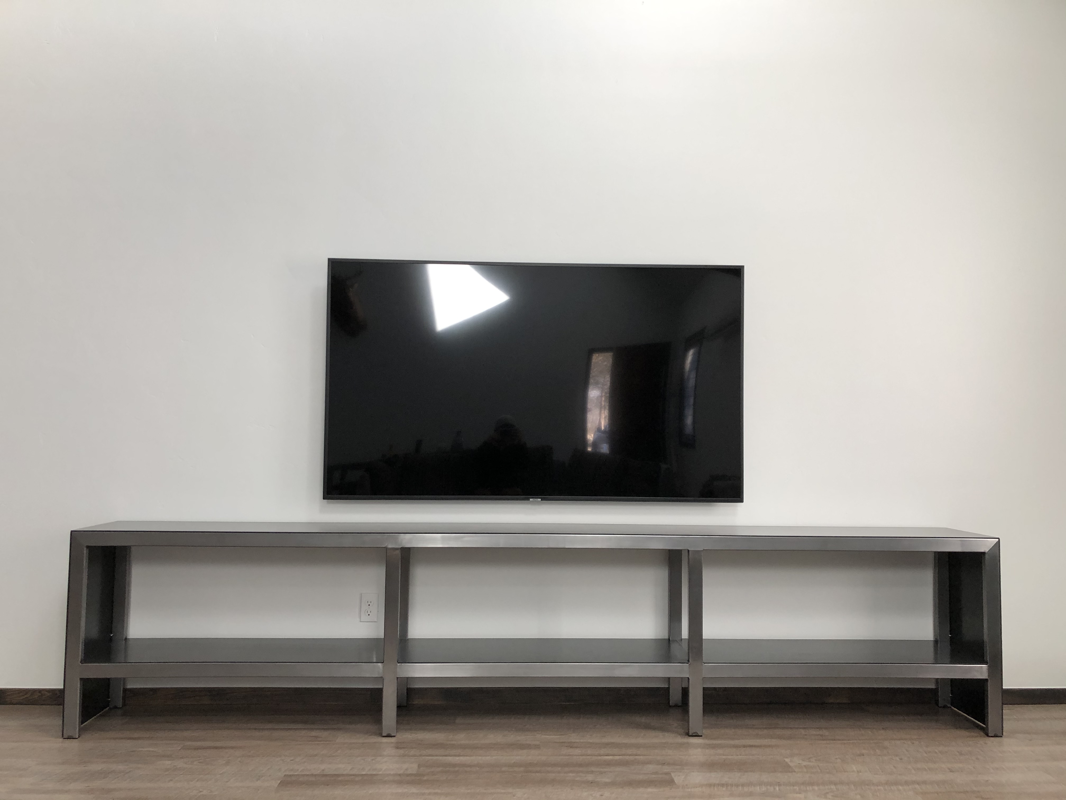 Steel TV Console