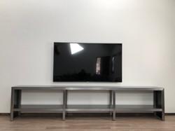 Steel TV Console
