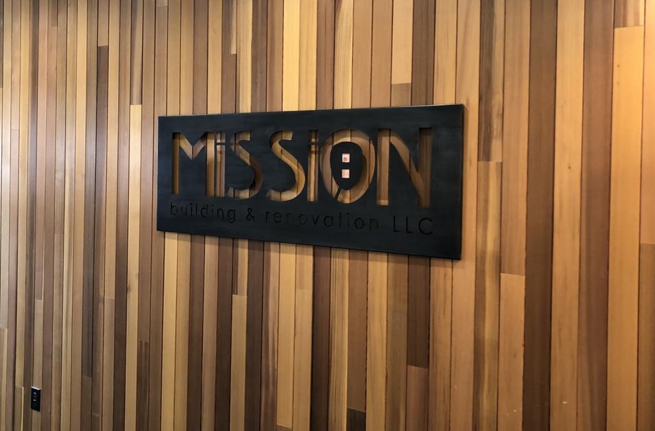 Mission Sign