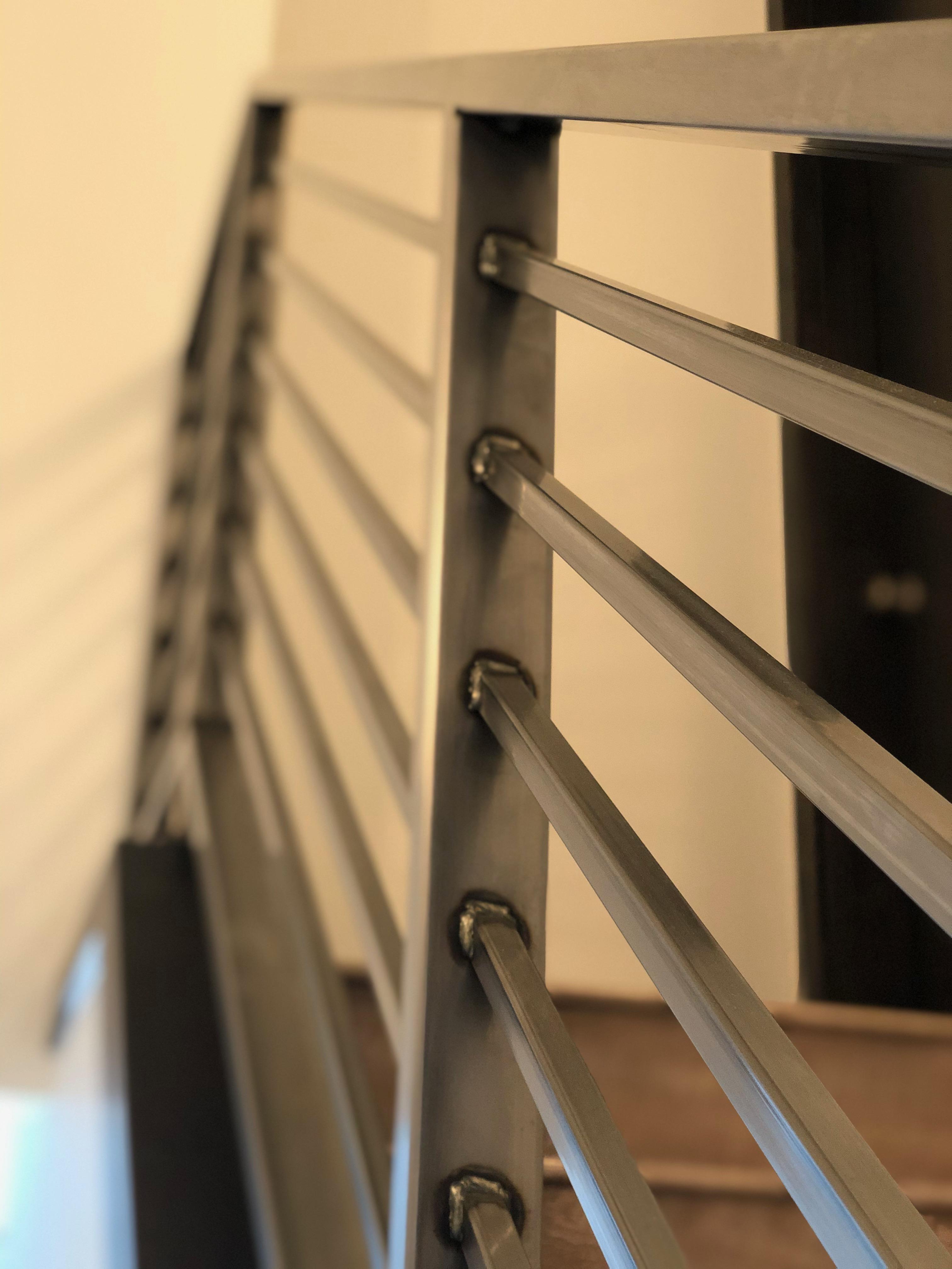 Railing Welds Detail