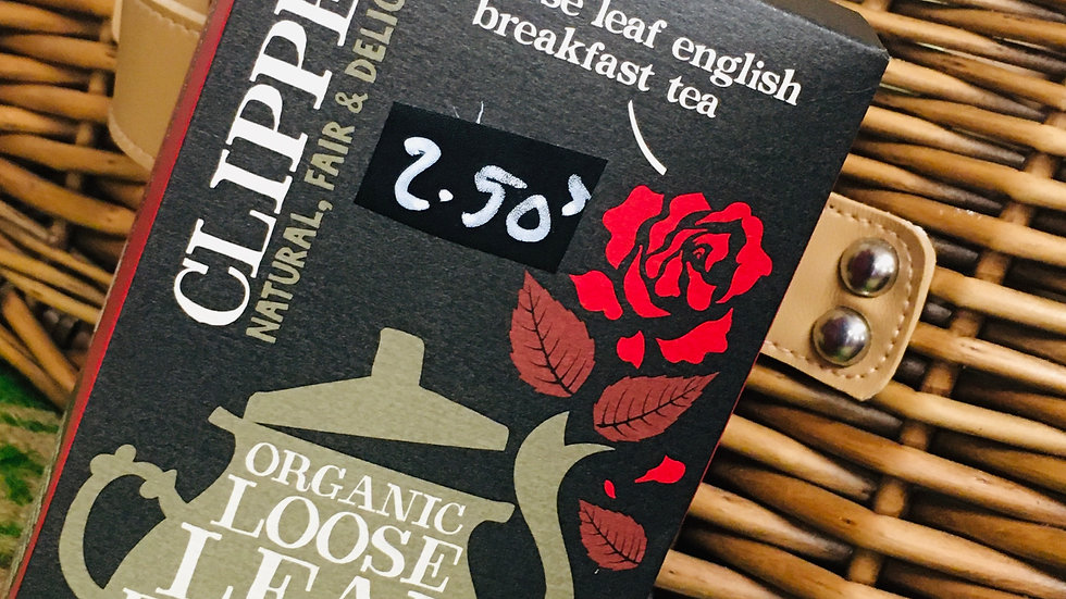 Fairtrade leaf tea