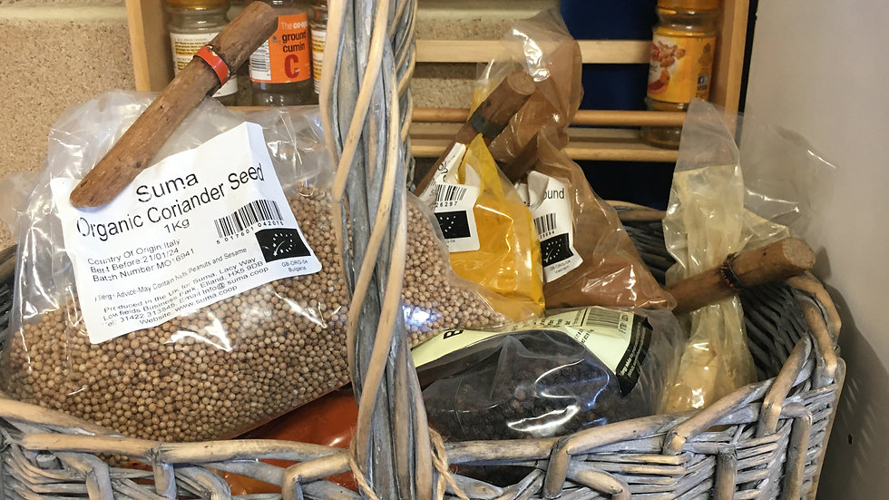 Organic Spices/per 10g