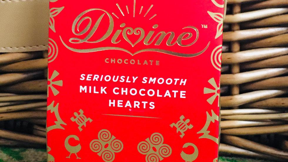 Fairtrade Chocolate hearts