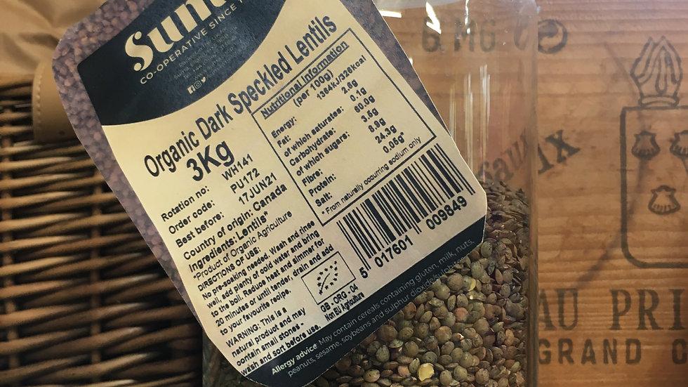 Organic Speckled Lentils