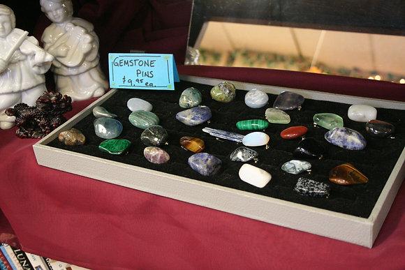 Gemstone Pins