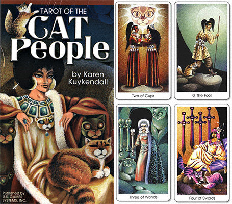 Cat People Tarot Deck