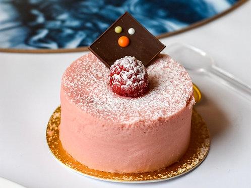 Mini Raspberry Mini Cheesecake