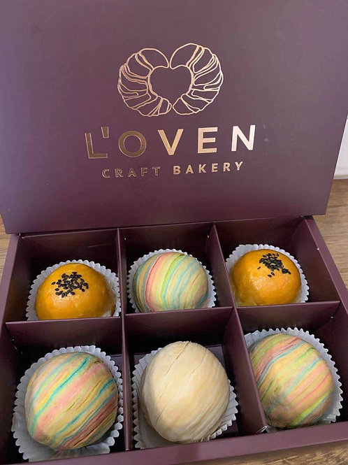 Taiwanese Mooncakes (Gift Box of 6)