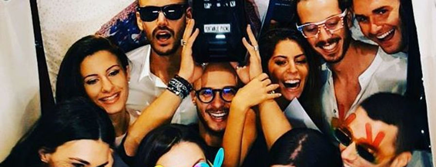 amici in cabina photobooth