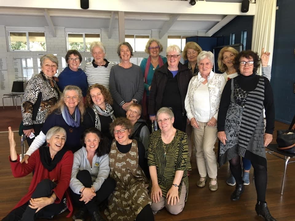 Song Mother training, Northern Beaches