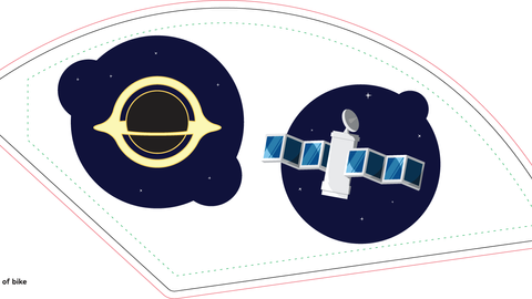 Space (left)