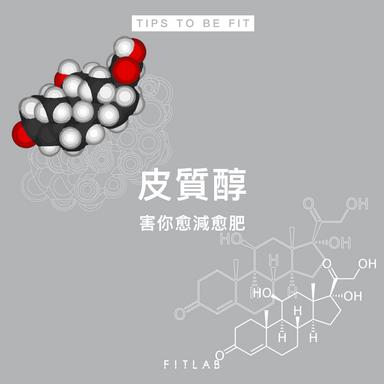 皮質醇是你變瘦的敵人!3招幫你有效控制皮質醇