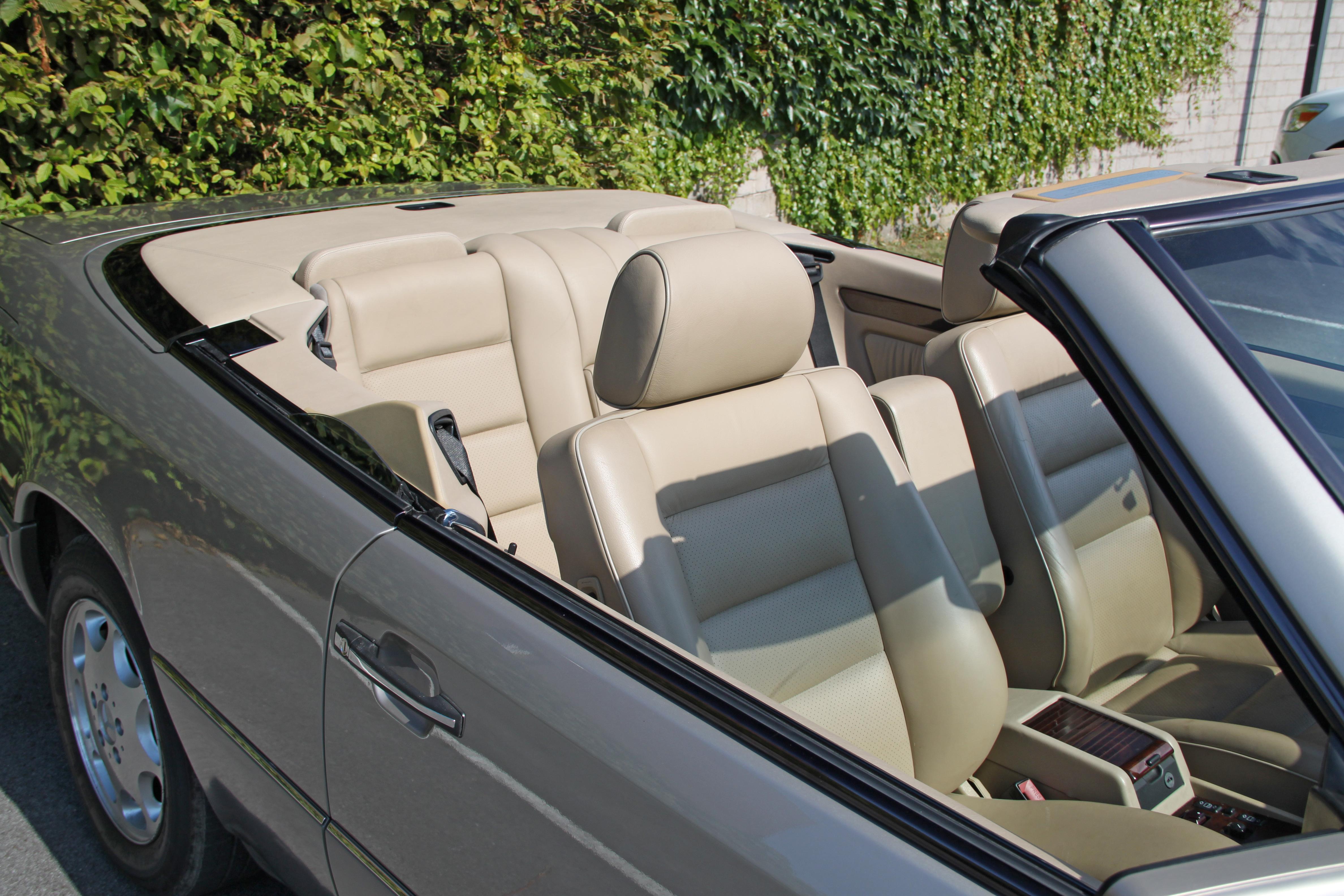 Mercedes Benz E 320 rauchsilber