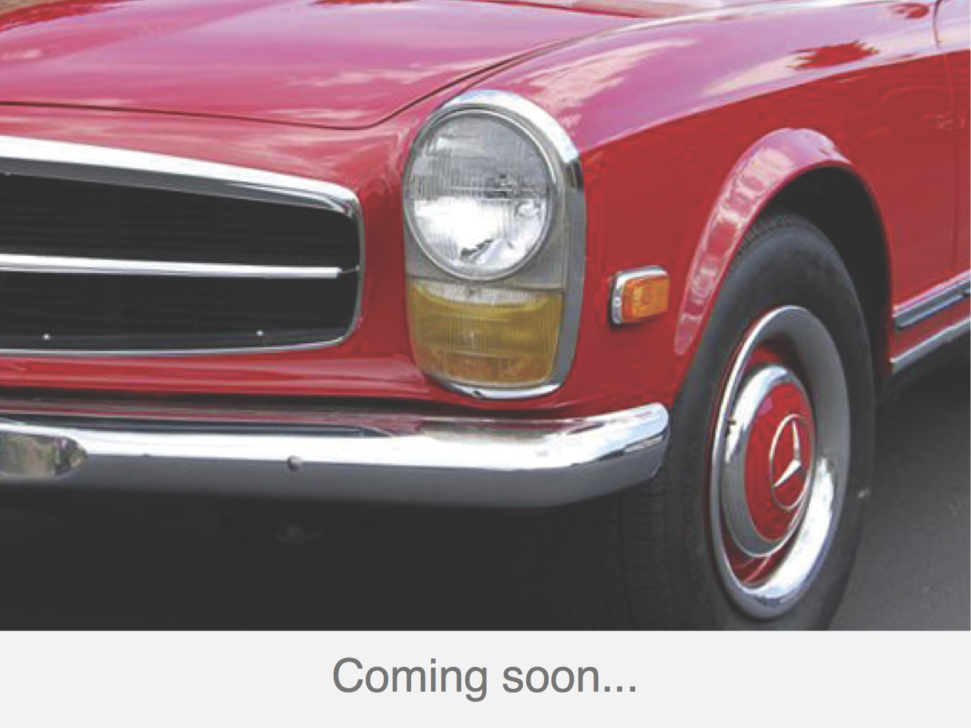 230 SL signalrot-braun coming soon
