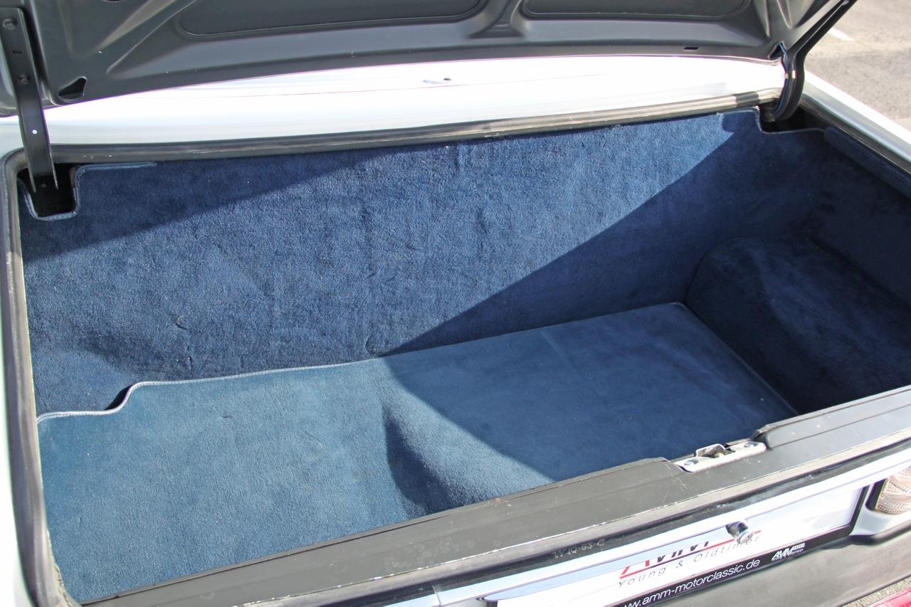 380 SL kofferraum
