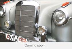 220 SE Cabrio Ponton silber-rot coming soon