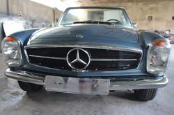 Mercedes 280 SL blau metallic