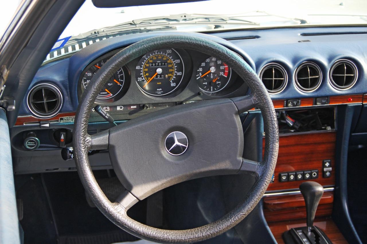 380 SL innenraum B