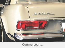 230 SL beige-rot 1964 coming soon