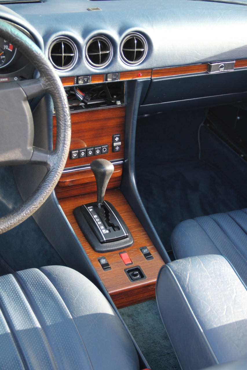 380 SL innenraum E