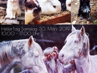 💞HelferTag Samstag 30. März 2019💞
