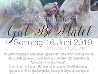SAVE THE DATE... zum 8.ten CharityEvent... unter dem Motto *Gut beHütet*... 👩🏻‍🌾👩🏻‍🎓👩🏻‍🍳🕵�