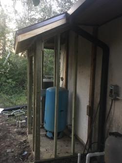 Water closet - in progress