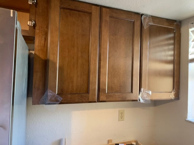 cabinet install