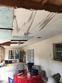 Lanai ceiling - start
