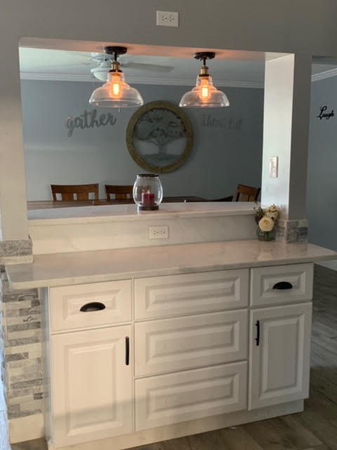 Kitchen remodel - island