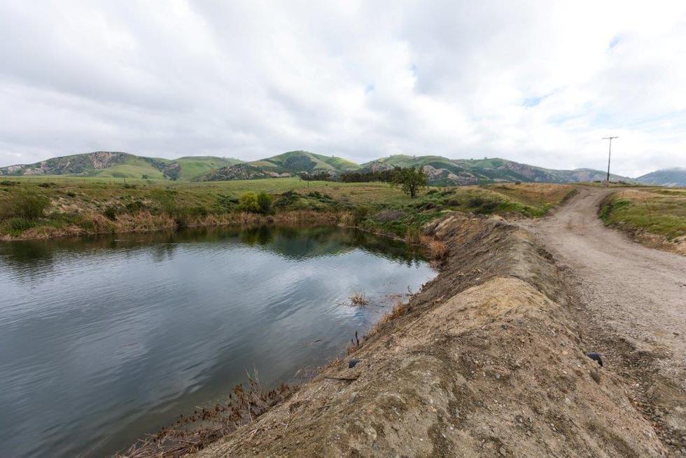 Pond near Ranch House