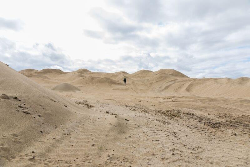 16 Sand Pile East Length